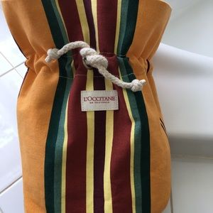 L'occitane small canvas bag NWOT